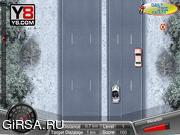 Флеш игра онлайн Зимние смертельные гонки / Winter Death Race