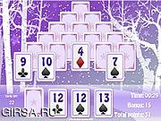 Флеш игра онлайн Зимний пасьянс / Winter Solitaire Matcher