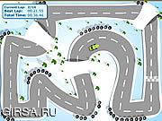 Флеш игра онлайн Зимой 2009 Года Гонки