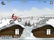 Флеш игра онлайн Зимний Райдер