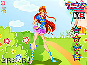 Флеш игра онлайн Winx Club Bloom Style