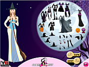 Флеш игра онлайн Наряд на Хэллуин / Witch Hallows Dress Up