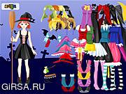 Флеш игра онлайн Одеваются Колдовство