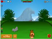 Флеш игра онлайн Wolfy's Adventure