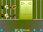Флеш игра онлайн Хэллуин. Пазл