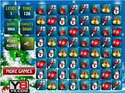 Флеш игра онлайн Рождественский матч 3 / Xmas Match 3