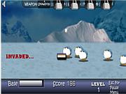 Флеш игра онлайн XMas Penguin Killer