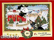 Флеш игра онлайн Em всхода рождественской открытки вверх / Christmas Card Shoot Em Up
