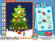 Флеш игра онлайн Делать рождественскую елку / Making Christmas Tree