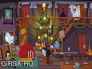 Флеш игра онлайн Каспер Рождество призраков