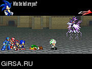 Флеш игра онлайн Файнал Фентези Соник X3 / Final Fantasy Sonic X3