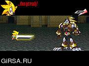 Флеш игра онлайн Final Fantasy Sonic X4