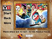 Флеш игра онлайн Дореамон. Пазл / Y8 Doraemon Jigsaw Puzzle