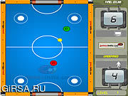 Флеш игра онлайн Воздушная забава хоккея