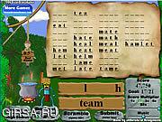 Флеш игра онлайн Джунгли алфавита