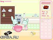 Флеш игра онлайн Кролики Царство Приготовления Пищи
