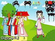 Флеш игра онлайн Китайский Princess Dressup / Chinese Princess Dressup
