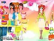 Игра Colorful Dressup