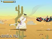 Флеш игра онлайн Самурай Джек: Пустыня Квест