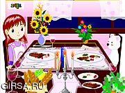 Флеш игра онлайн Dinner Decoration
