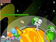 Флеш игра онлайн Вирус в галактике