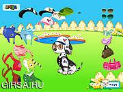 Флеш игра онлайн Doggy одевает вверх / Doggy Dress up