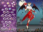 Флеш игра онлайн Фея в костюм дьявола