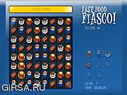 Игра Fast Food Fiasco