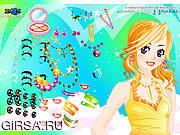 Флеш игра онлайн Gala Girl Make up