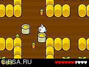 Флеш игра онлайн Grabbit Rabbit: The Guarded Guardian