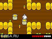 Флеш игра онлайн Кролик Грэббит: В погоне за Морковкой