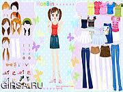 Флеш игра онлайн Hanbin Dress up