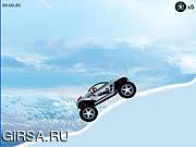 Флеш игра онлайн Ледяной гонщик