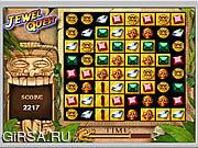 Флеш игра онлайн Поиски драгоценного камня