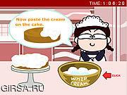 Флеш игра онлайн Хлебобулочные Мэгги: кухня королевы