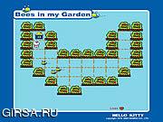 Флеш игра онлайн Хелло Китти: пчелы в моем саду