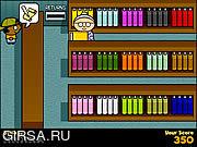 Флеш игра онлайн Библиотекарь молнии