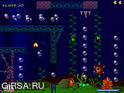 Флеш игра онлайн Madpac Подводный / Madpac Underwater