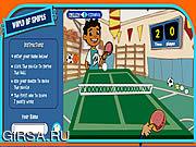 Флеш игра онлайн Майя  / Maya & Miguel Ping pong
