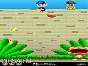 Флеш игра онлайн Веселая мартышка