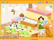 Флеш игра онлайн Украшение комнаты собаки / Dog Room Decoration