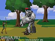 Флеш игра онлайн Охота на Монстра