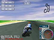 Флеш игра онлайн Motorcycle Racer