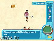 Флеш игра онлайн Ханна Монтана: Оливер сокровищ