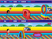 Флеш игра онлайн Outrageous Obstacle Course