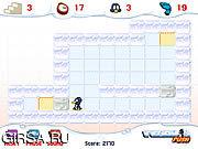 Флеш игра онлайн Penguin Push