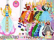 Флеш игра онлайн Princess Мантия Dressup