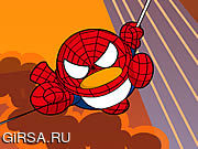QQ Penguin: Spiderman