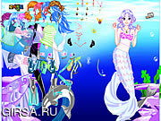 Флеш игра онлайн Sea Girl Dressup