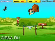 Флеш игра онлайн Секстремальная Катапульта